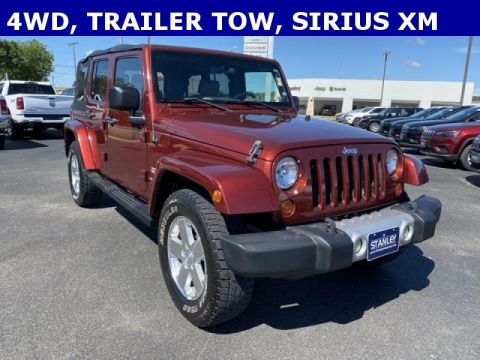 Pre-Owned 2008 Jeep Wrangler Unlimited Unlimited Sahara